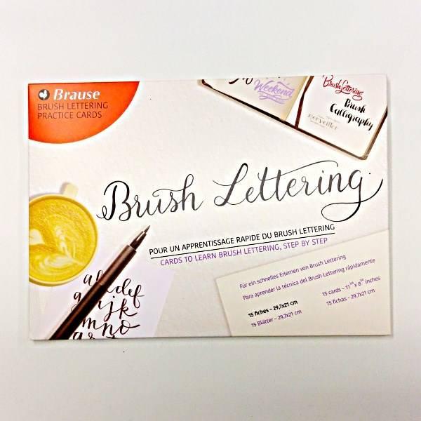 Předlohy pro psaní Brush Lettering