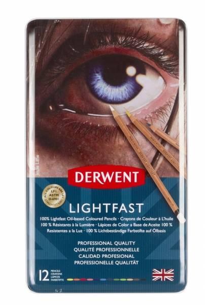 Lightfast olejové pastelky 12ks