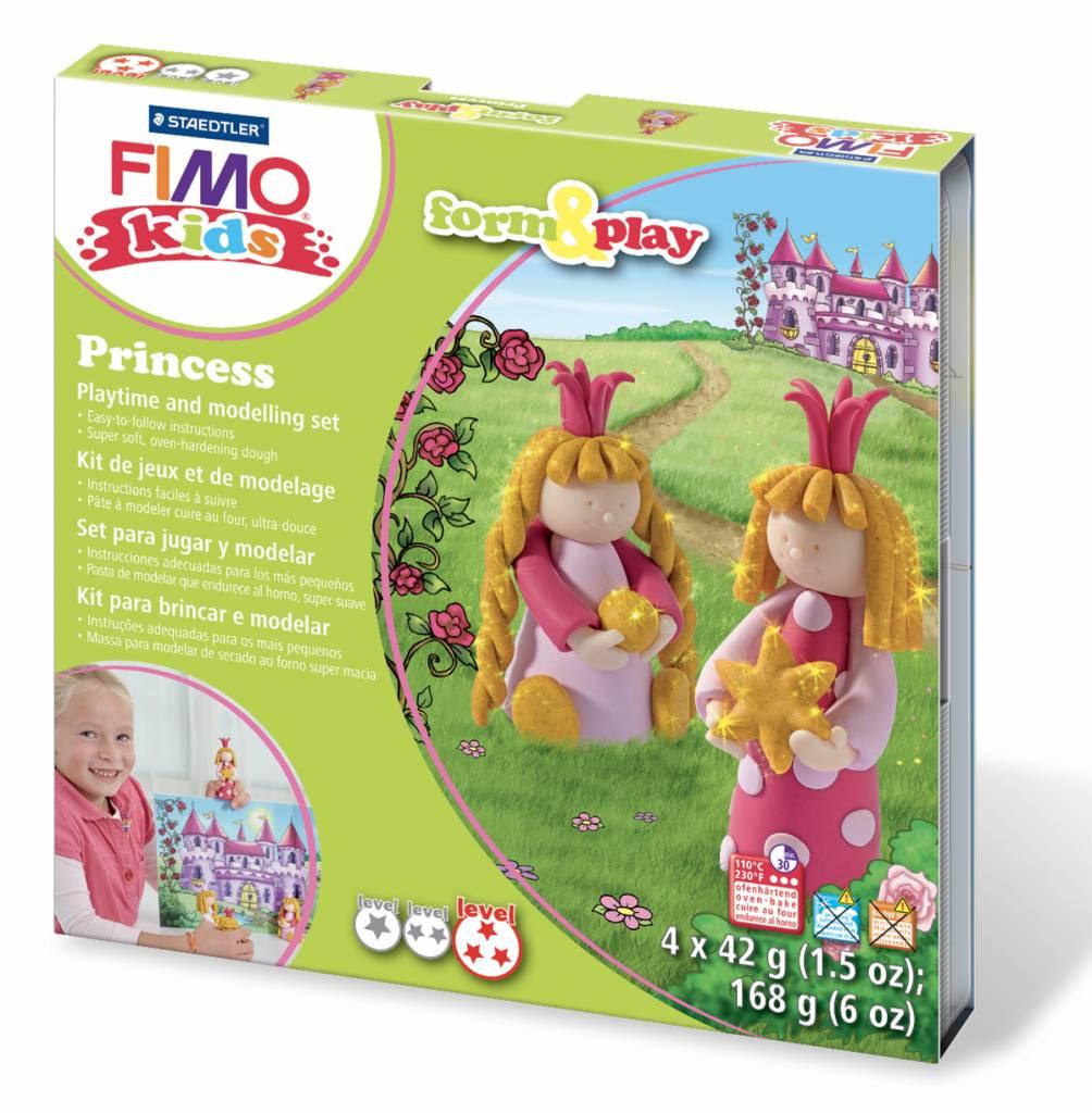 Sady Fimo KIDS Staedtler: Princezny - Sada Fimo Kids
