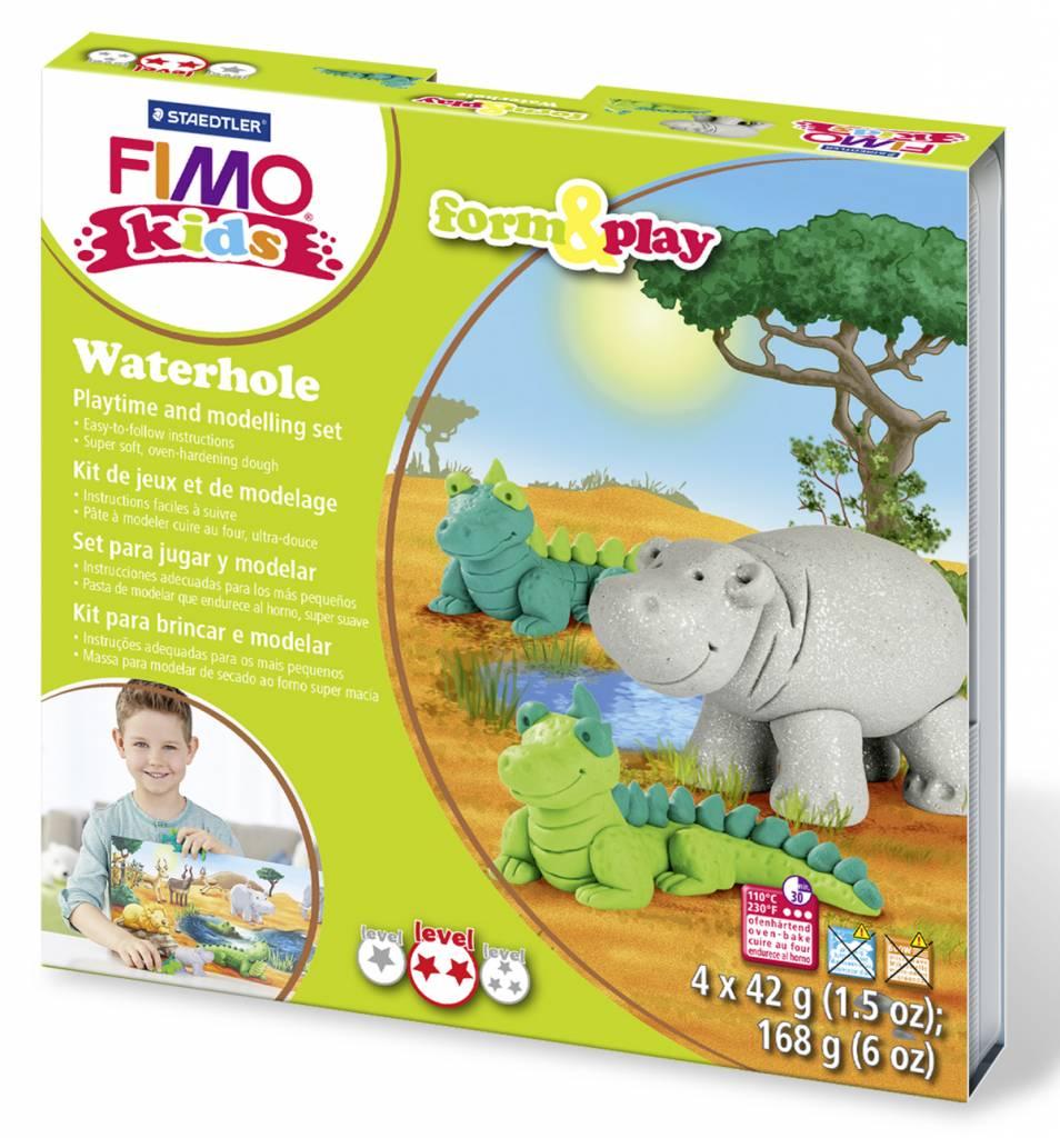 Sady Fimo KIDS Staedtler: Zvířátka Afrika - Sada Fimo Kids