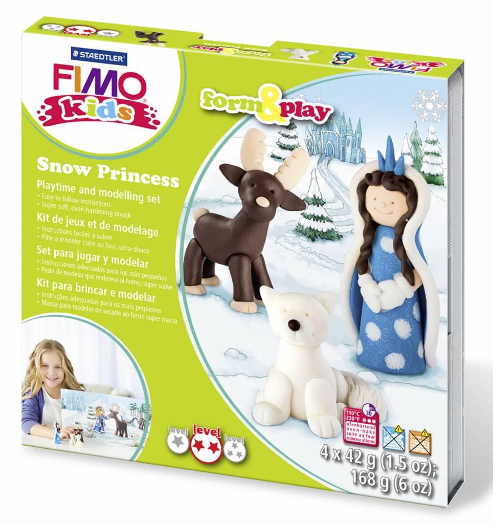 Sady Fimo KIDS Staedtler: Sněhová královna - Sada Fimo Kids