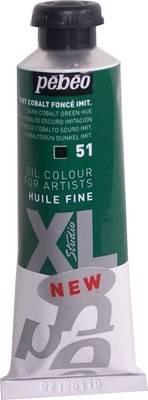 Olejové barvy Pébéo Studio XL (37ml): 51 - Kobaltová zeleň tmavá(37ml)