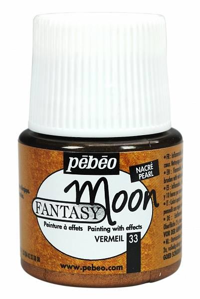Barvy Pébéo Fantasy Moon: 33 Ruměnec (45ml) - Fantasy Moon