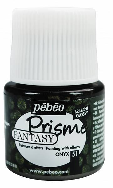 Barvy Pébéo Fantasy Prisme: 51 Onyx (45ml)