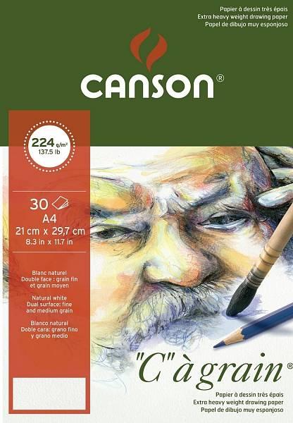 """Canson """"C""""á grain skicák A4 224g"""
