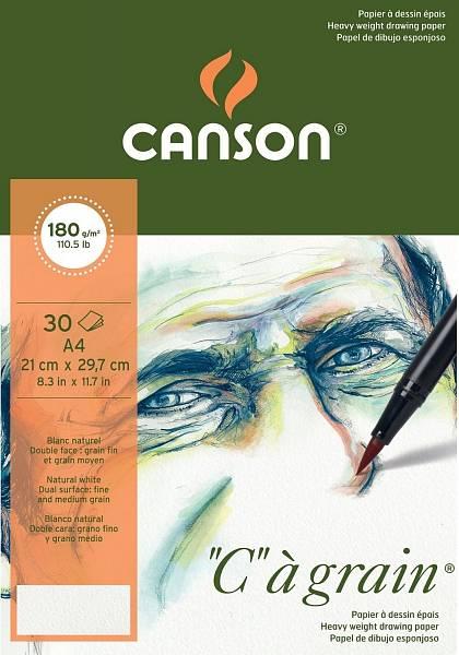 """Canson """"C""""á grain skicák A4 180g"""