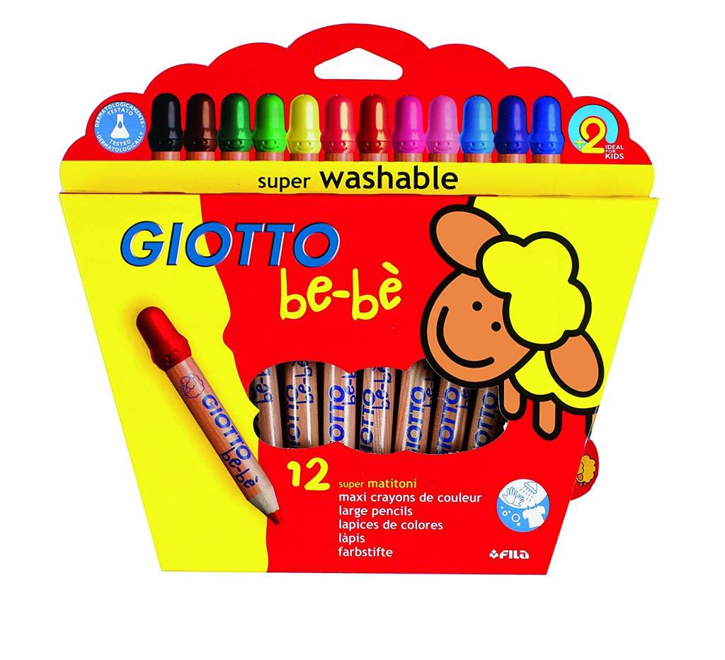 Pastelky GIOTTO be-bé 12ks