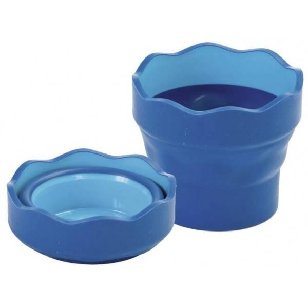 Skládací kelímek na vodu: 181510 Modrý - Skládací kelímek na vodu