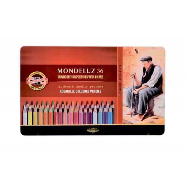 Akvarelové Pastelky Mondeluz 36 ks