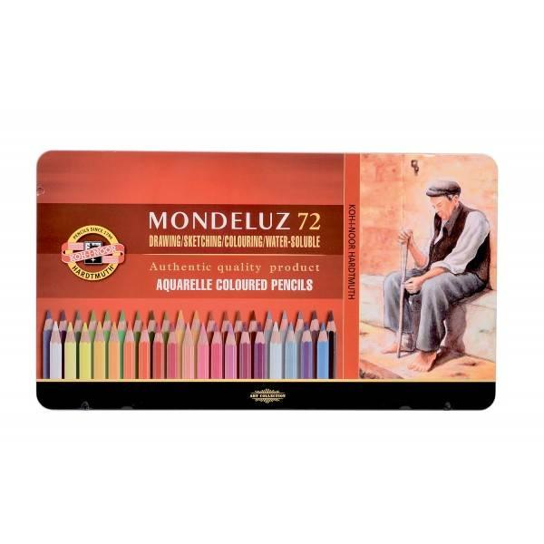 Akvarelové Pastelky Mondeluz 72 ks