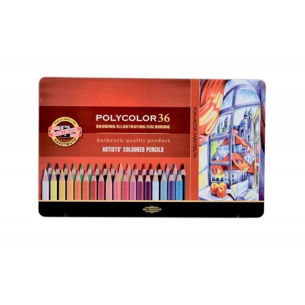 Pastelky Polycolor 36ks