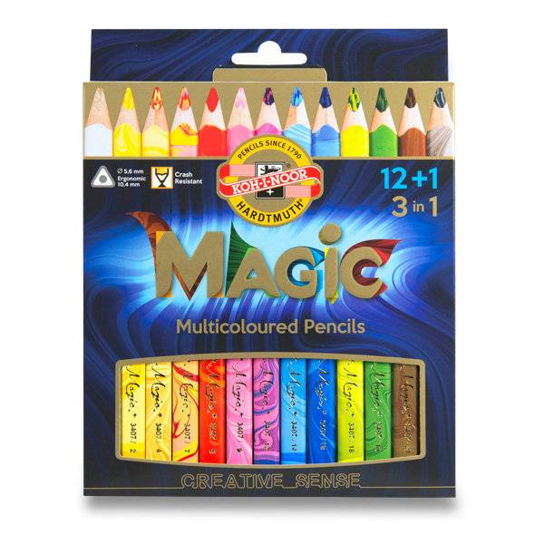 Pastelky Magic 12+1