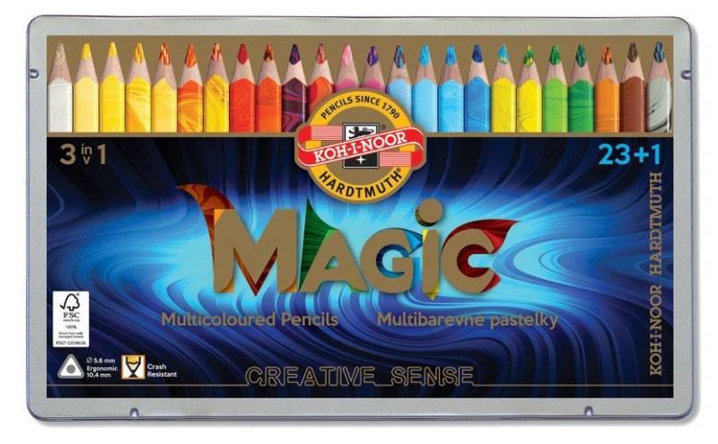 Pastelky Magic 23+1