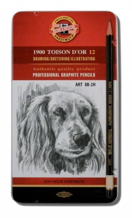 Grafitové tužky (8B - 2H)
