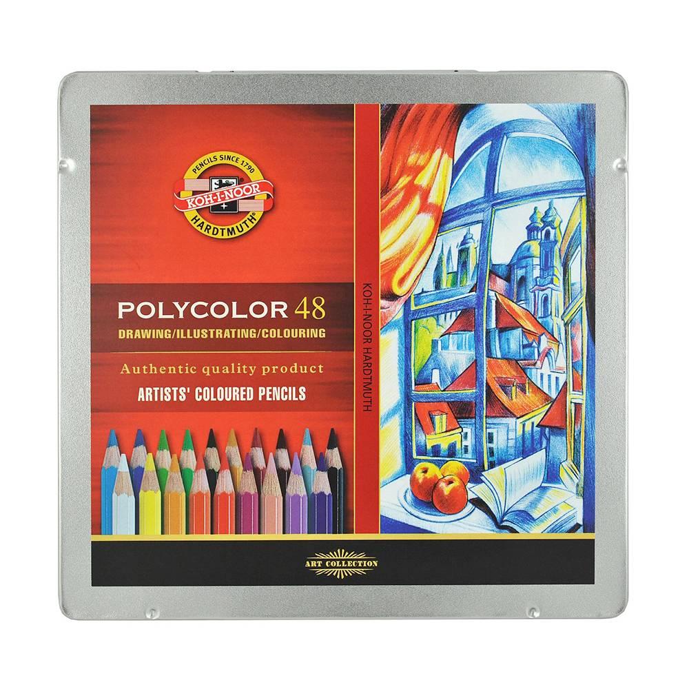 Pastelky Polycolor 48ks