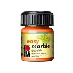 Mramorovací barvy Easy Marble (15ml): 013 Oranžová - Easy Marble (15ml)