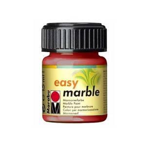 Mramorovací barvy Easy Marble (15ml): 031 Červená třešňová - Easy Marble (15ml)