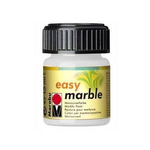 Mramorovací barvy Easy Marble (15ml): 070 Bílá  - Easy Marble (15ml)