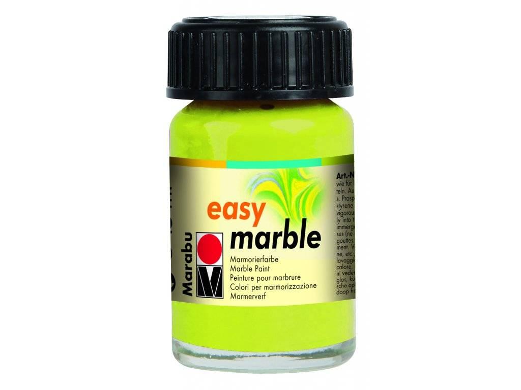Mramorovací barvy Easy Marble (15ml): 061 Zelená Reseda - Easy Marble (15ml)