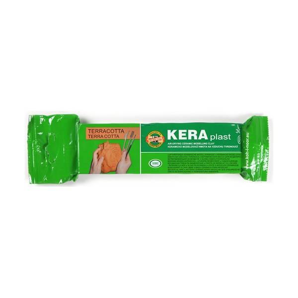 Modelovací hmota KERA plast (300g): Terracota barva - KERA plast (300g)