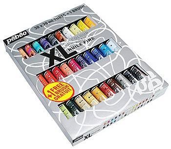 Sada olejových barev Studio XL 30x20ml