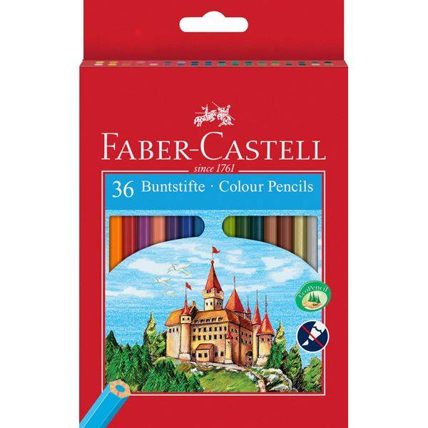 Pastelky Eco 36ks Faber-Castell
