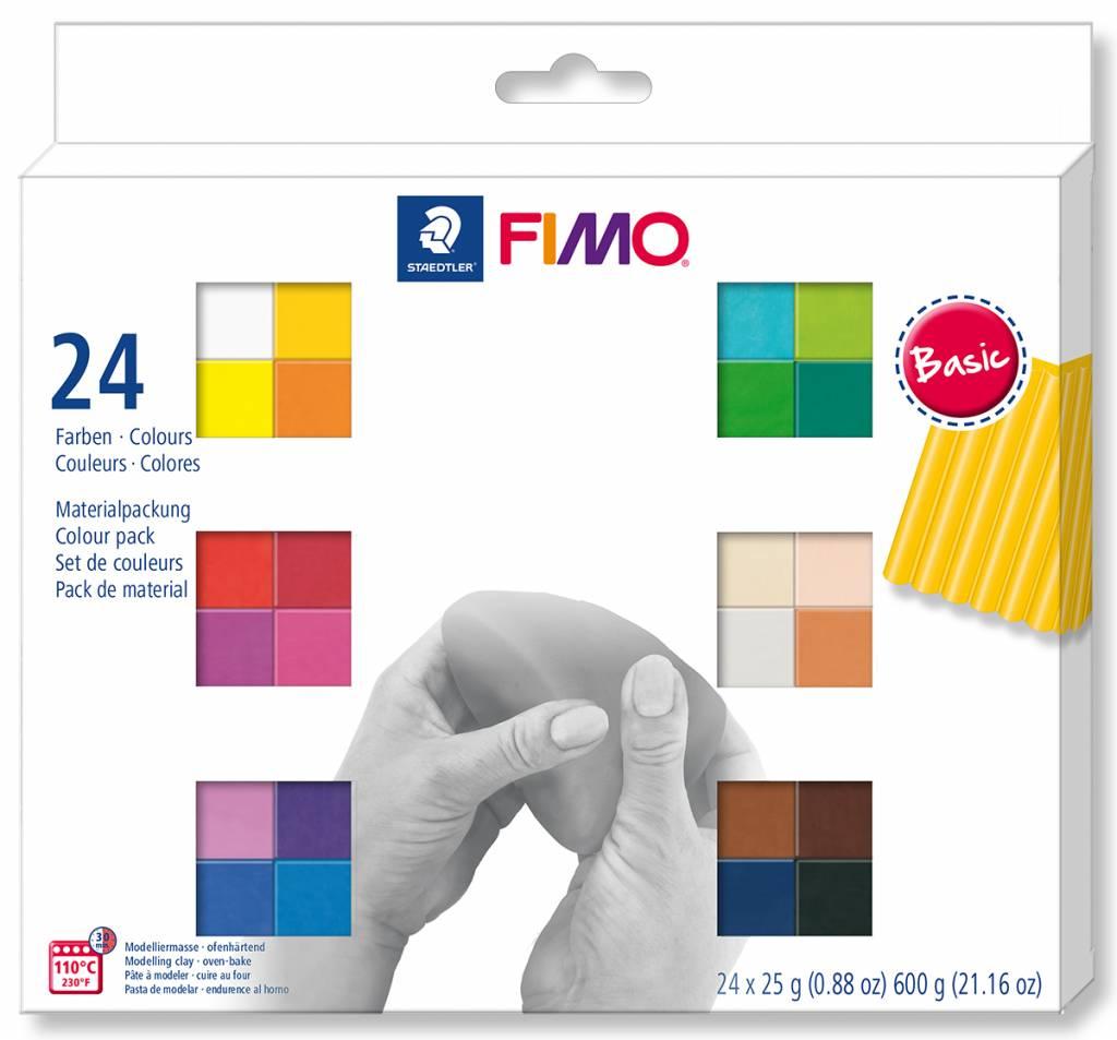 Fimo Soft sada 24 barev