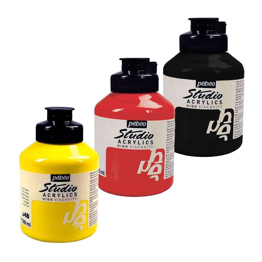Akrylové barvy Studio Acrylics 500ml