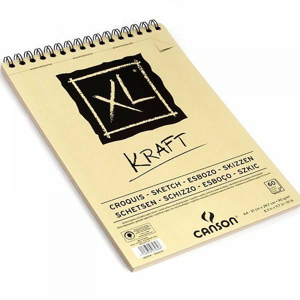 Blok XL Kraft  A4 kroužkový