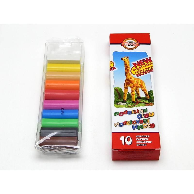 Modelovací hmota 10 barev