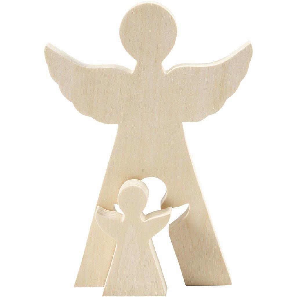 Dřevěný anděl 2v1