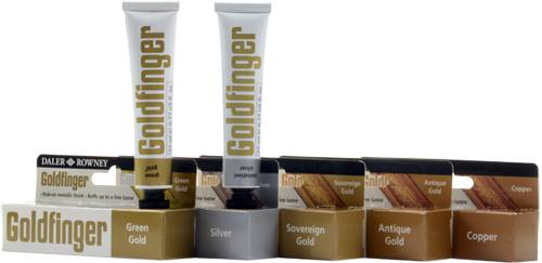 Goldfinger metalická pasta: Antik Gold