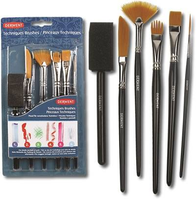 Techniques Brushes sada štětců 5ks