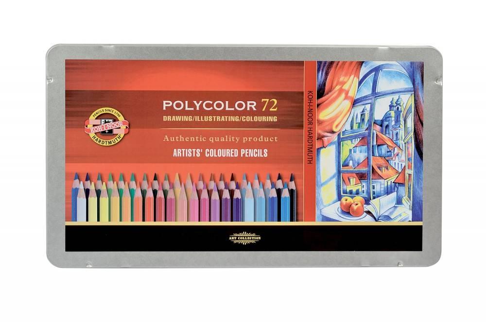 Pastelky Polycolor 72ks