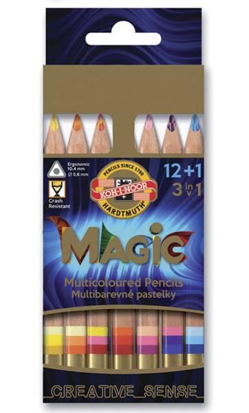 Pastelky Magic 12+1 krátké