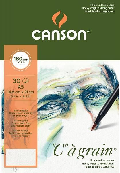 """Canson """"C""""á grain skicák A5 180g"""