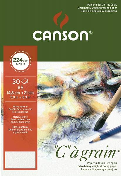 """Canson """"C""""á grain skicák A5 224g"""