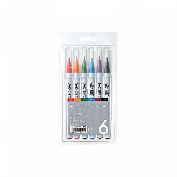 Clean Color Real Brush - sada 6ks