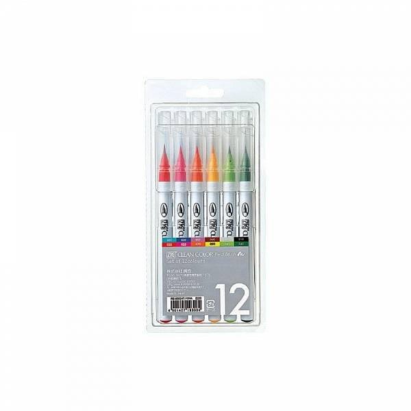 Clean Color Real Brush - sada 12ks