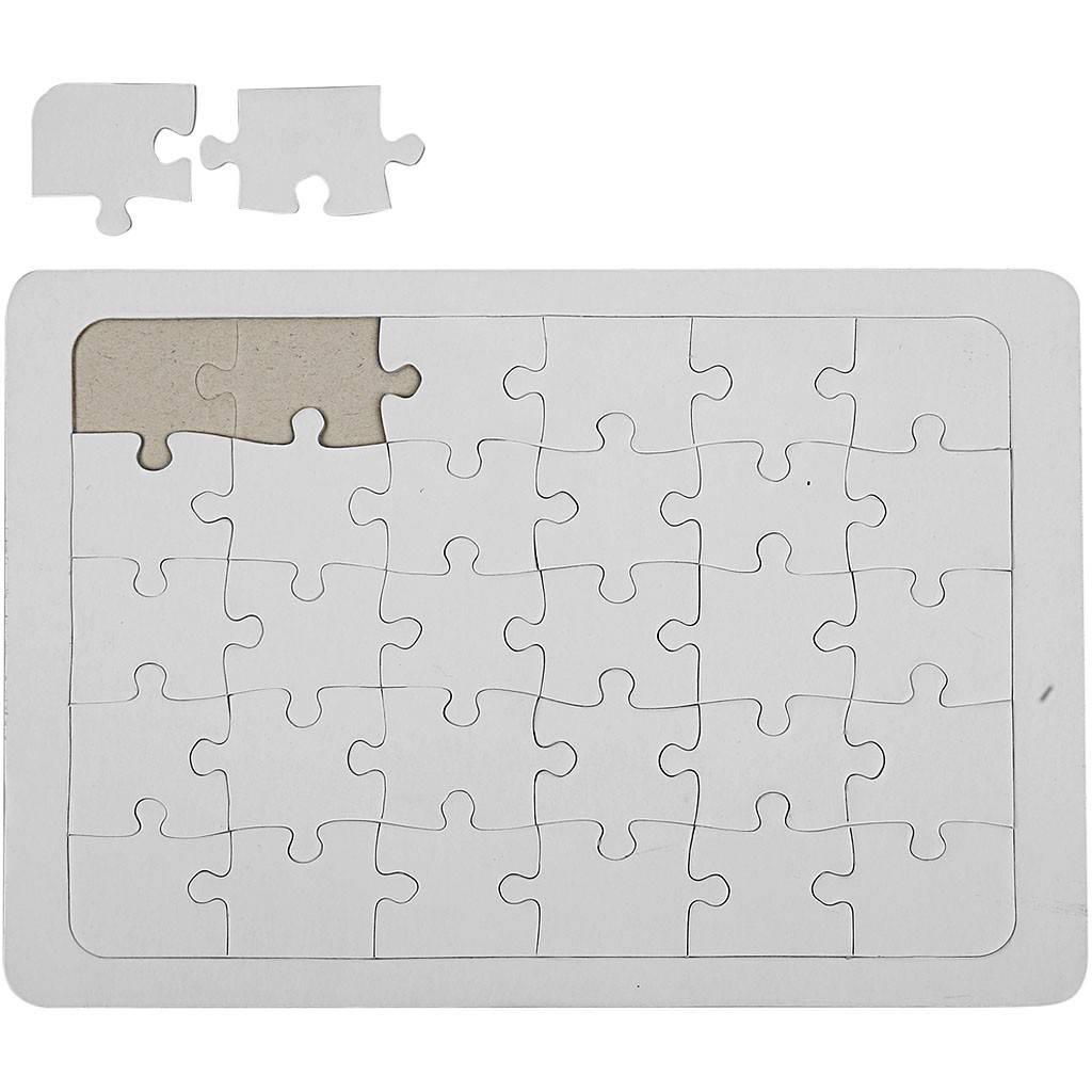 Kartonové Puzzle A5
