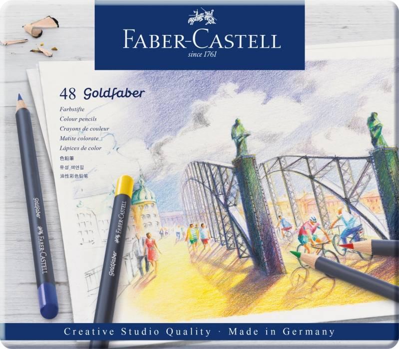 Pastelky Goldfaber 48ks