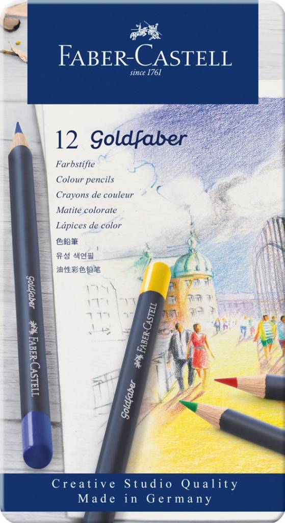 Pastelky Goldfaber 12ks