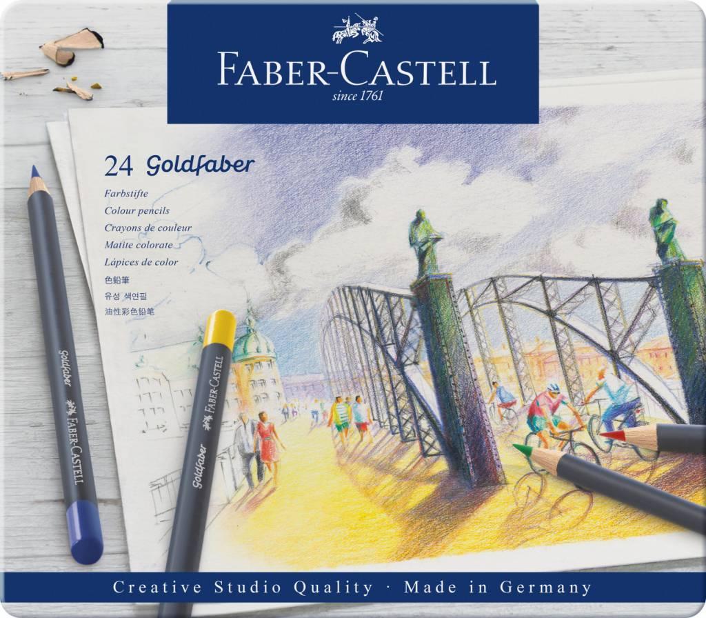 Pastelky Goldfaber 24ks