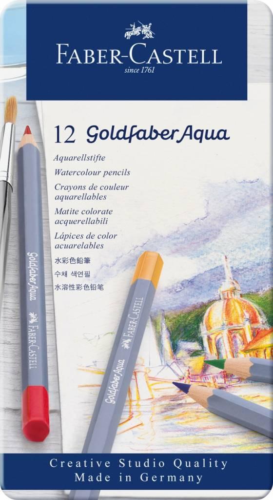 Pastelky Goldfaber Aqua 12ks