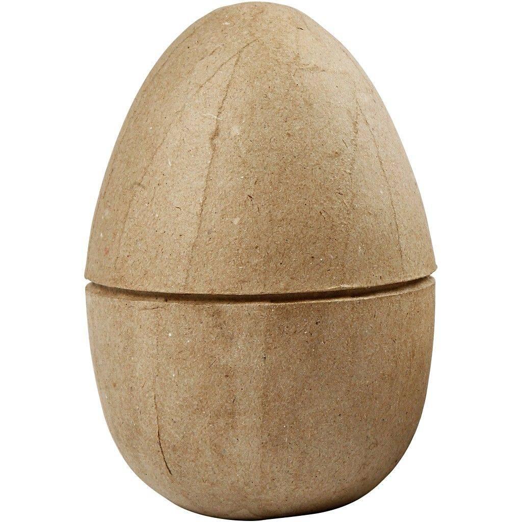 Kartonové vejce dvoudílné 12x9cm