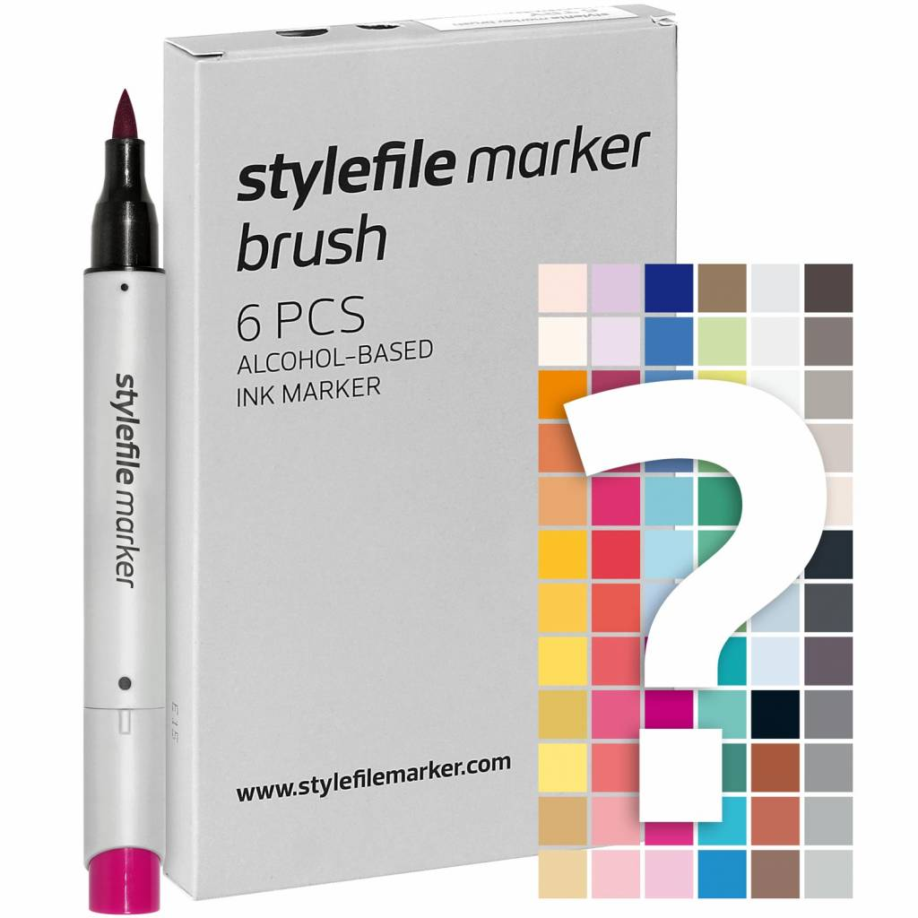 Stylefile fixy Brush Tryout Set 6ks