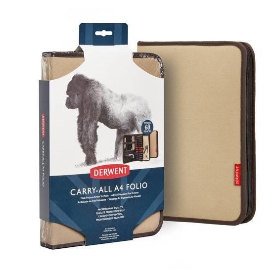 Pouzdro Carry-All Folio A4 hnědé