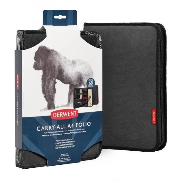 Pouzdro Carry-All Folio A4 černé