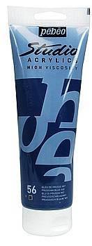 Akrylové barvy Studio Acrylic (100ml): 056 Prussian blue hue - Studio Acrylic (100ml)
