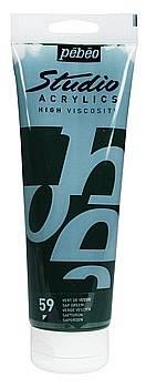 Akrylové barvy Studio Acrylic (100ml): 059 Sap green - Studio Acrylic (100ml)